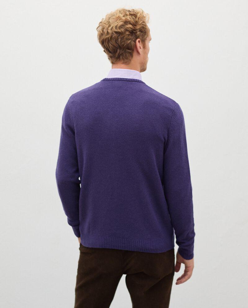 Pullover tricot in pura lana merino uomo single tile 1