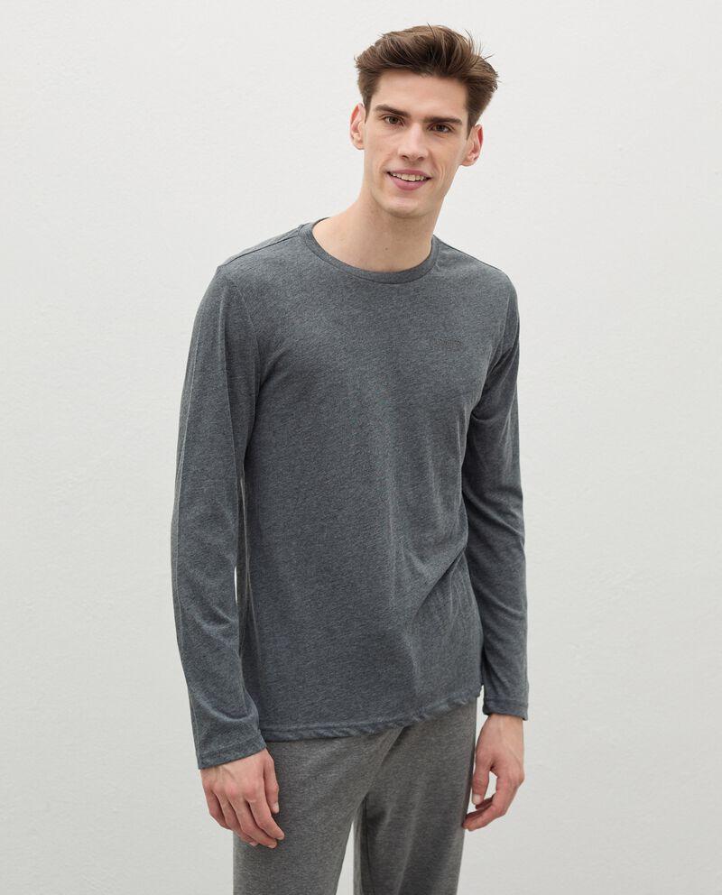 Maglia del pigiama in cotone uomo cover