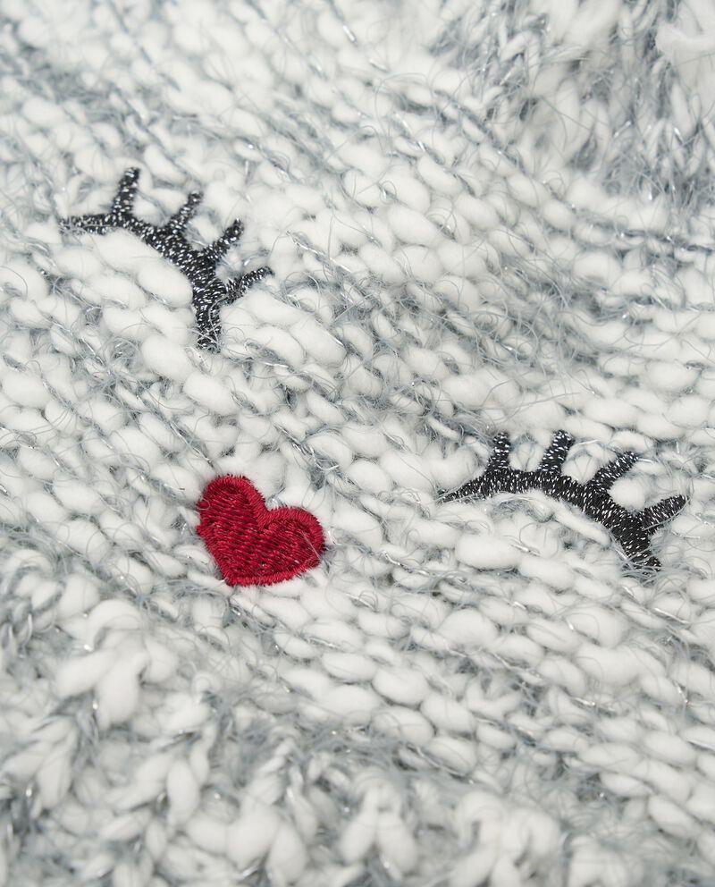 Berretto con filo lurex single tile 1