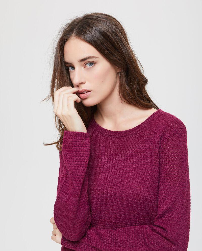 Pullover tricot con spacchetti