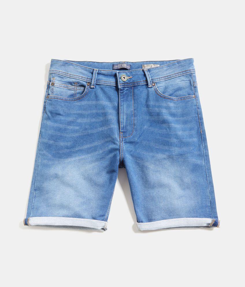 Bermuda in jeans cinque tasche uomo