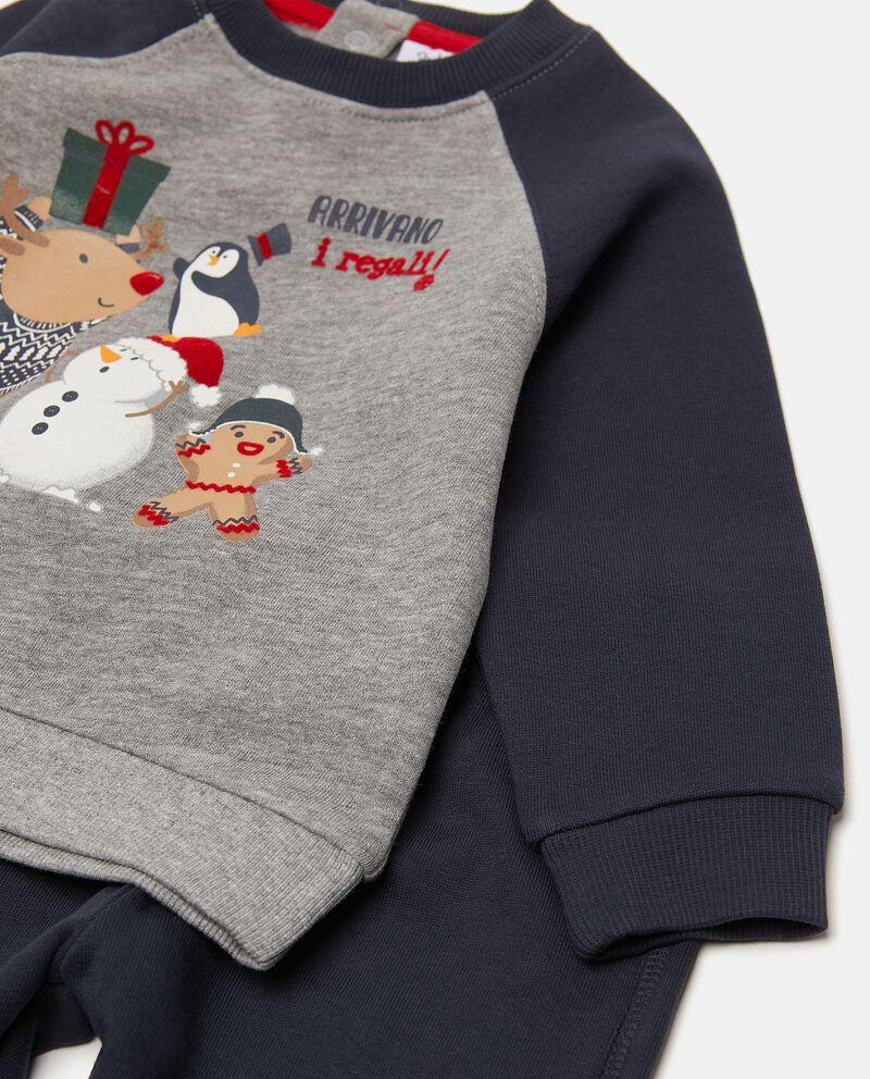 Set jogging natalizio neonato