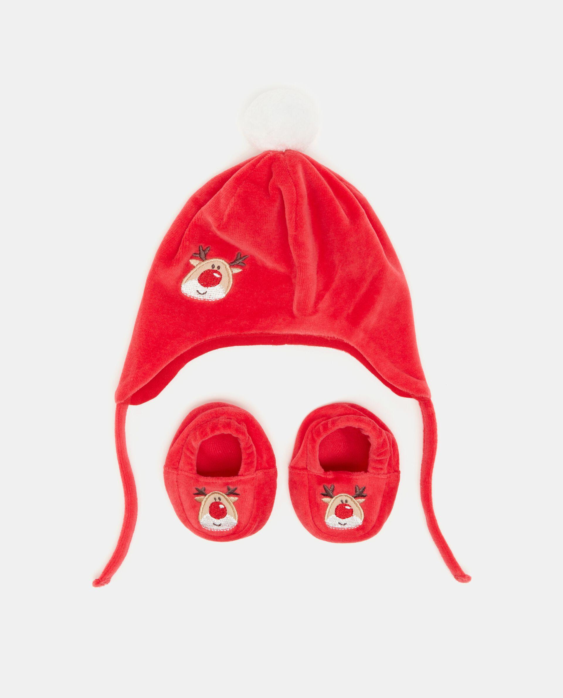 Set con cappellino e scarpine