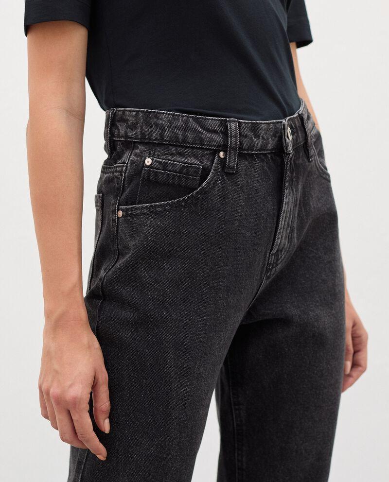 Jeans fit mom in puro cotone donna single tile 2
