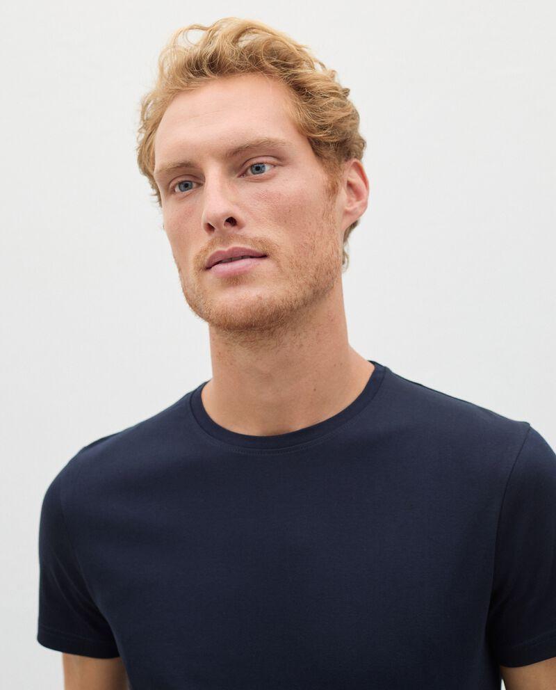 T-shirt Fitness in puro cotone uomo single tile 2