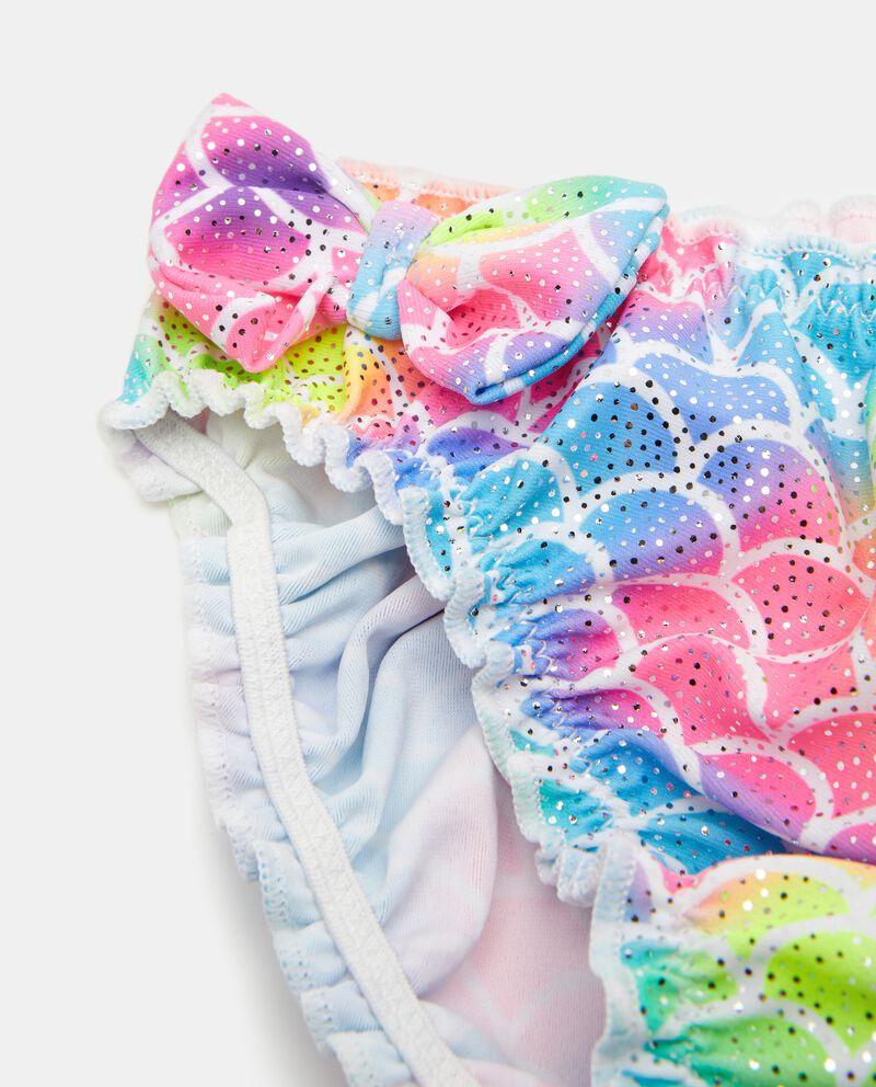 Slip costume con glitter