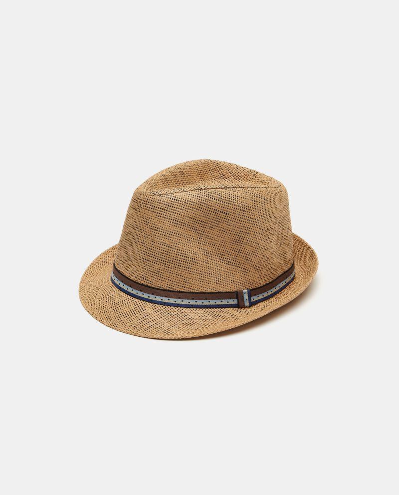 Cappello fedora con nastro uomo cover