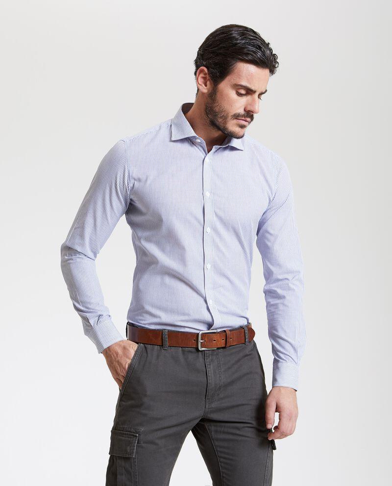 Camicia a righe uomo