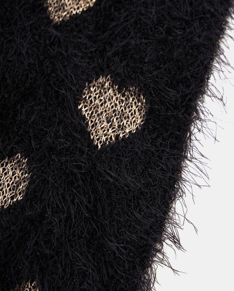 Sciarpa con motivo con filo lurex single tile 1