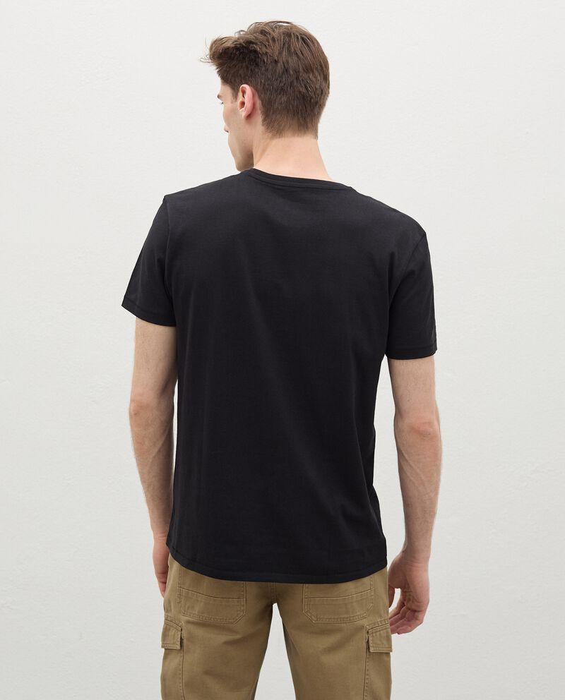 T-shirt stampata in cotone organico uomo single tile 1