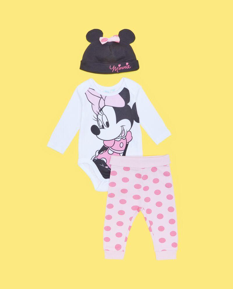 Completino nascita Minnie in puro cotone