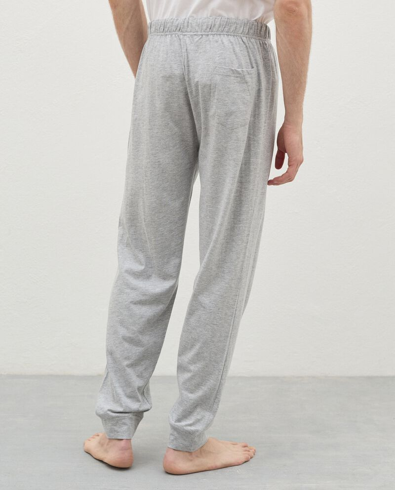 Pantaloni pigiama in cotone uomo single tile 1
