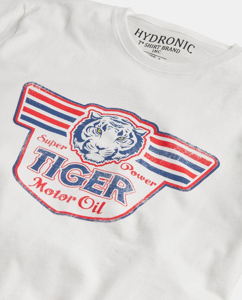 T-shirt stampata puro cotone