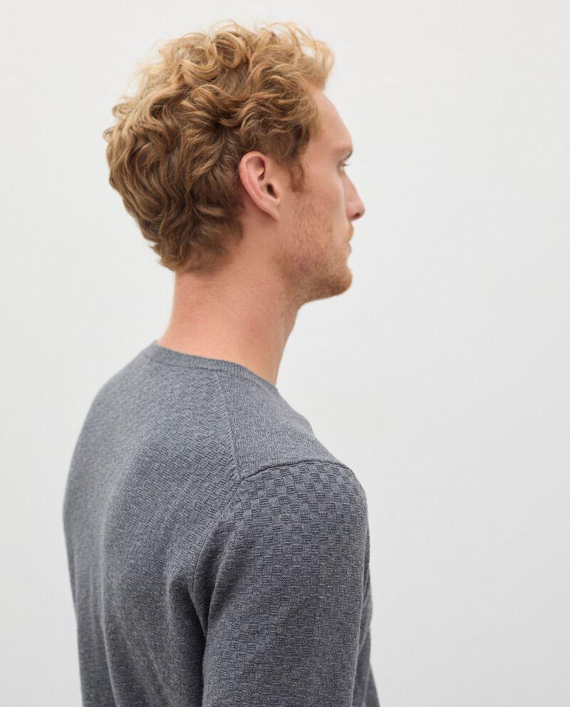 Pullover tricot in misto cashmere uomo single tile 2