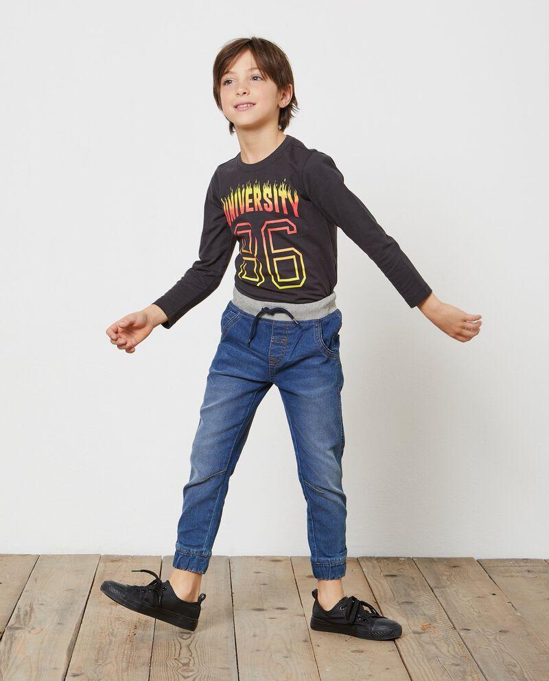 Jeans vita elasticata cinque tasche