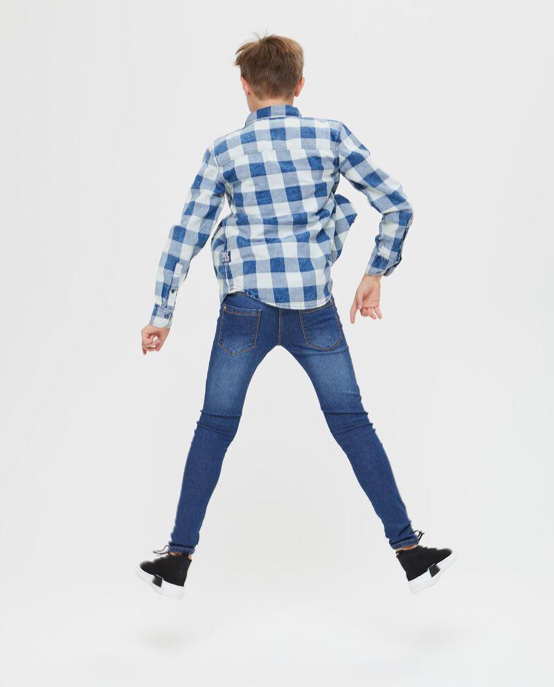 Camicia puro cotone a quadri