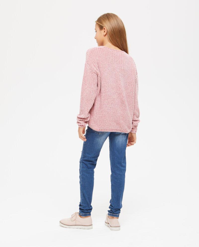 Pullover tricot tinta unita