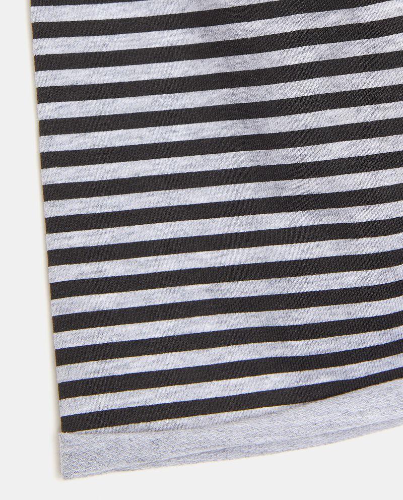Berretto a righe in cotone elasticato bambinodouble bordered 1