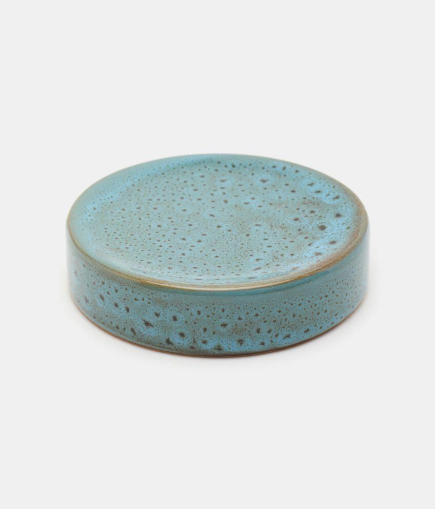 Porta sapone bicolor in ceramica double 1