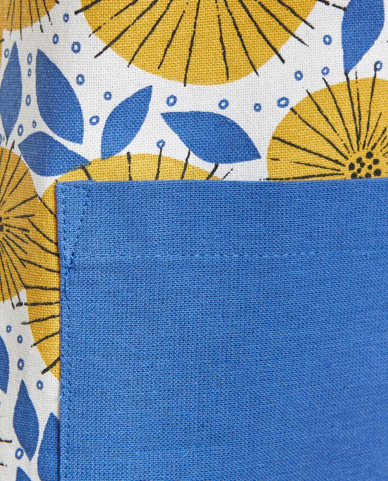 Grembiule stampa soffioni in puro cotone single tile 1