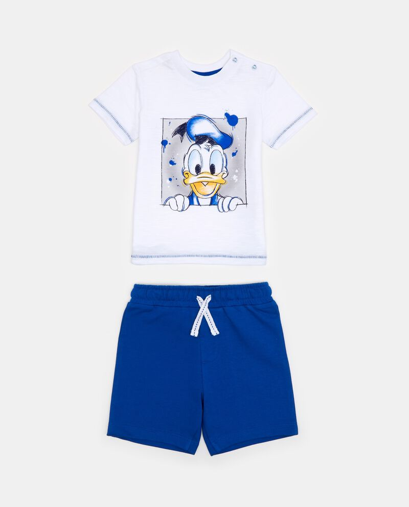 Jogging set t-shirt Paperino e shorts