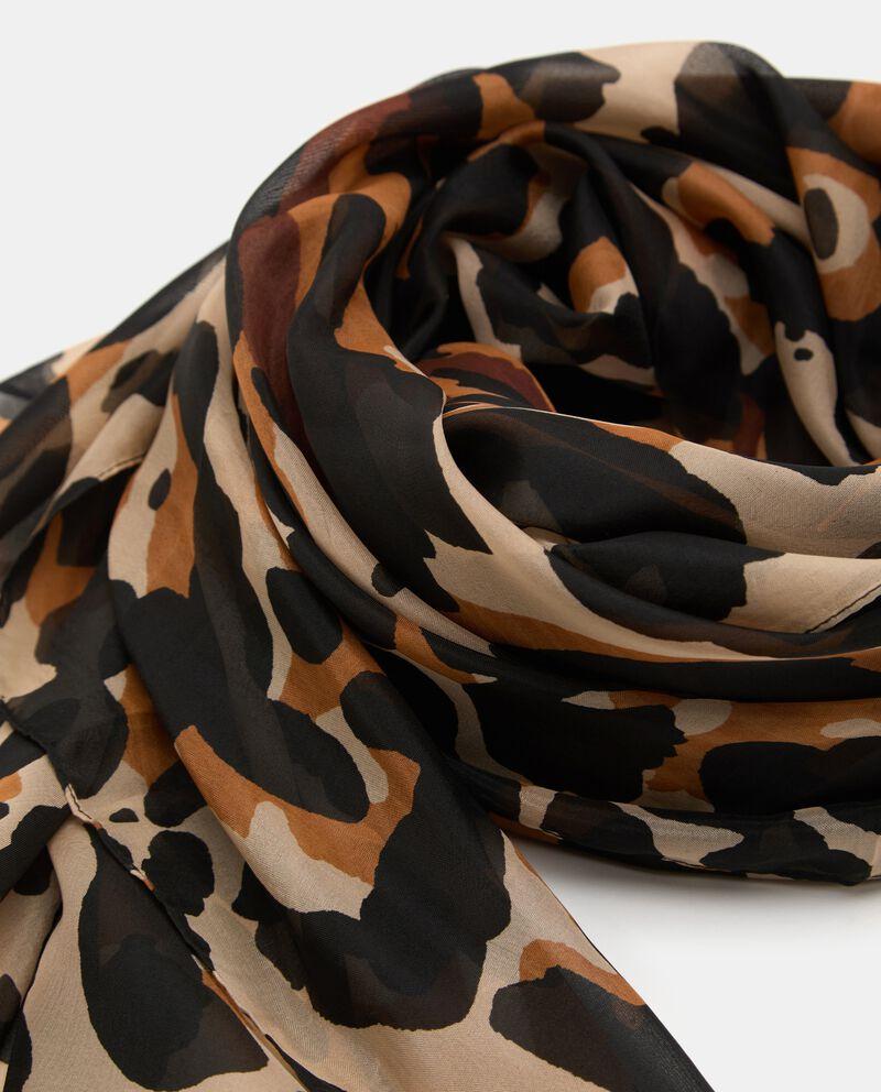 Sciarpa leggera stampa animalier donna single tile 1