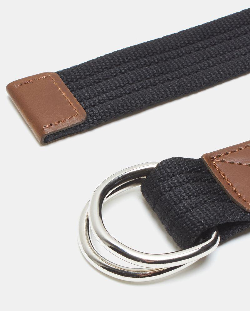 Cintura in tessuto uomo