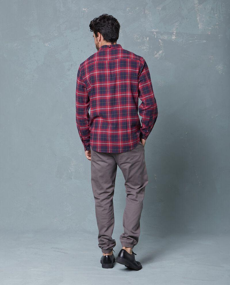 Camicia casual flanella a quadri