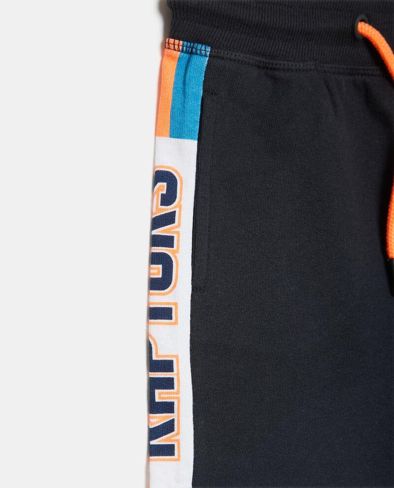 Shorts in felpina di cotone organico bambino