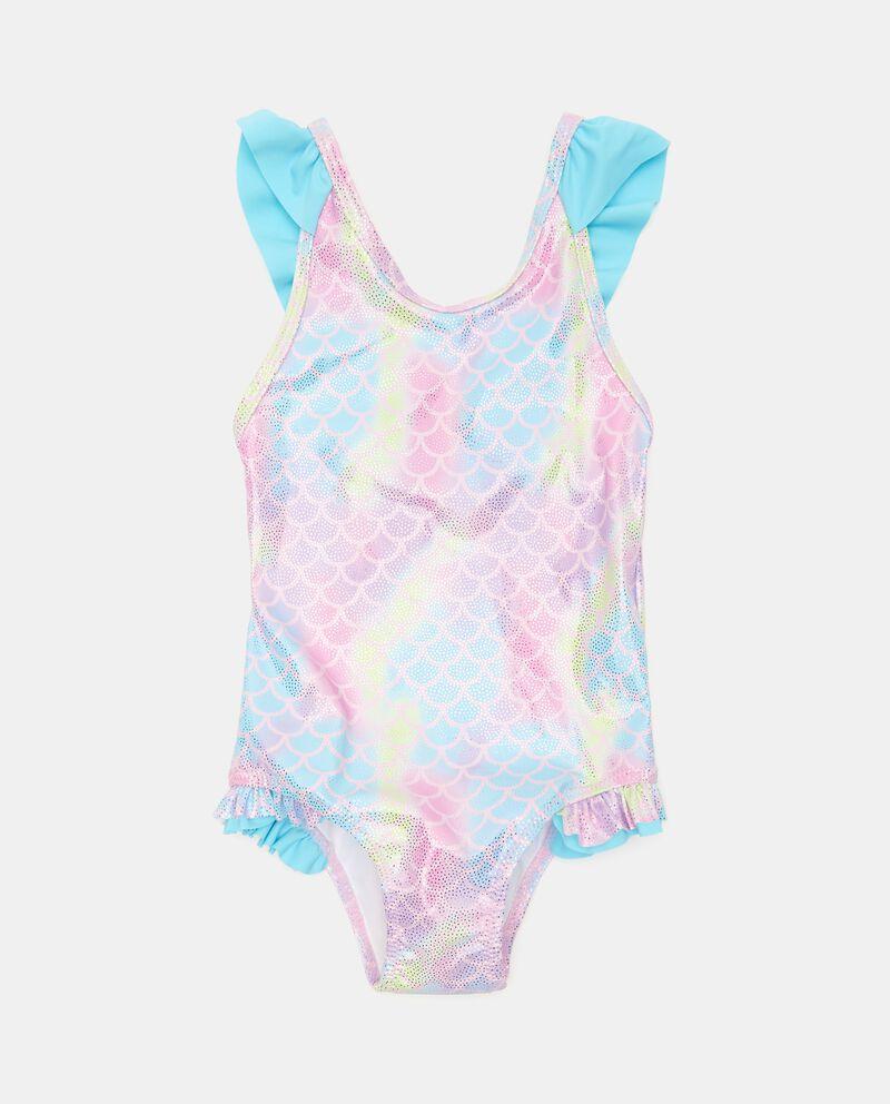 Costume intero con effetto iridescente neonata cover