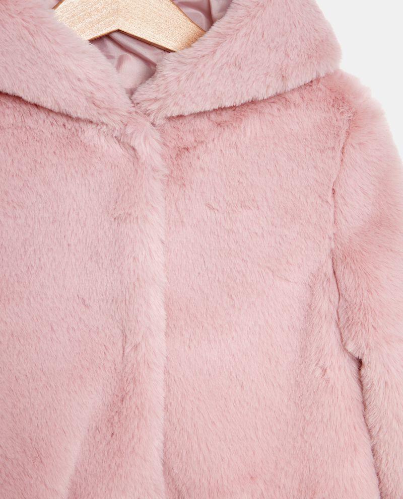 Eco pelliccia a mantella bambina