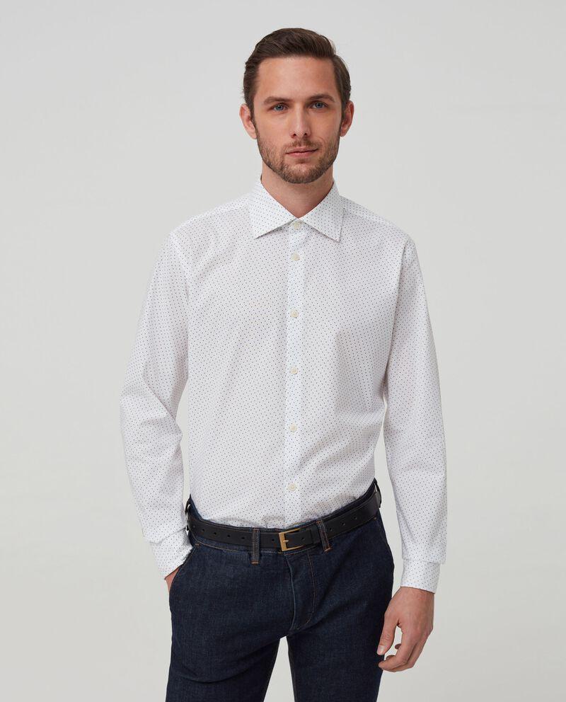 Camicia puro cotone micro pois
