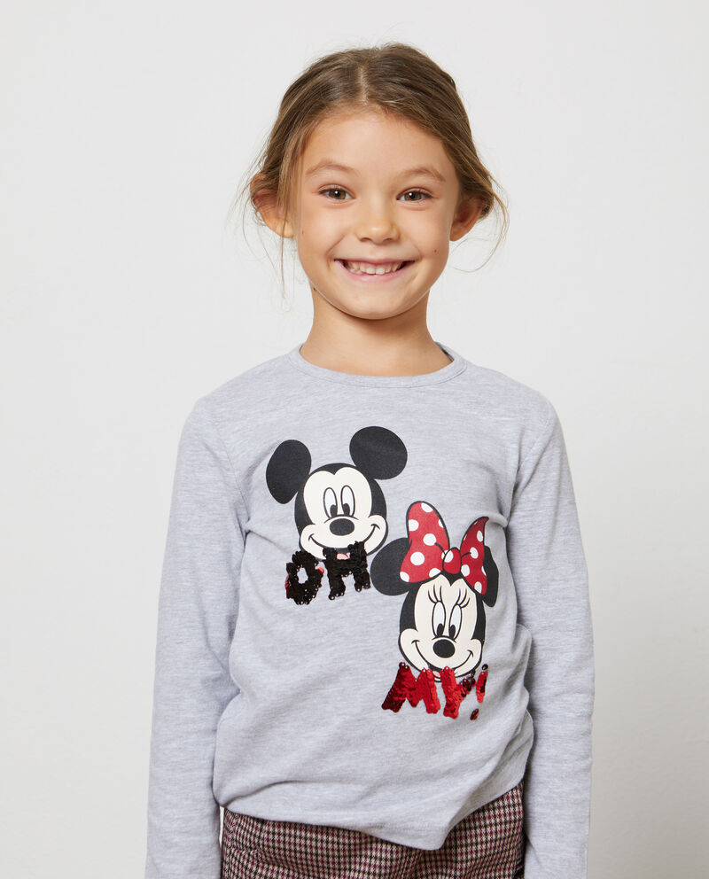 T-shirt mélange Mickey Mouse e Minnie