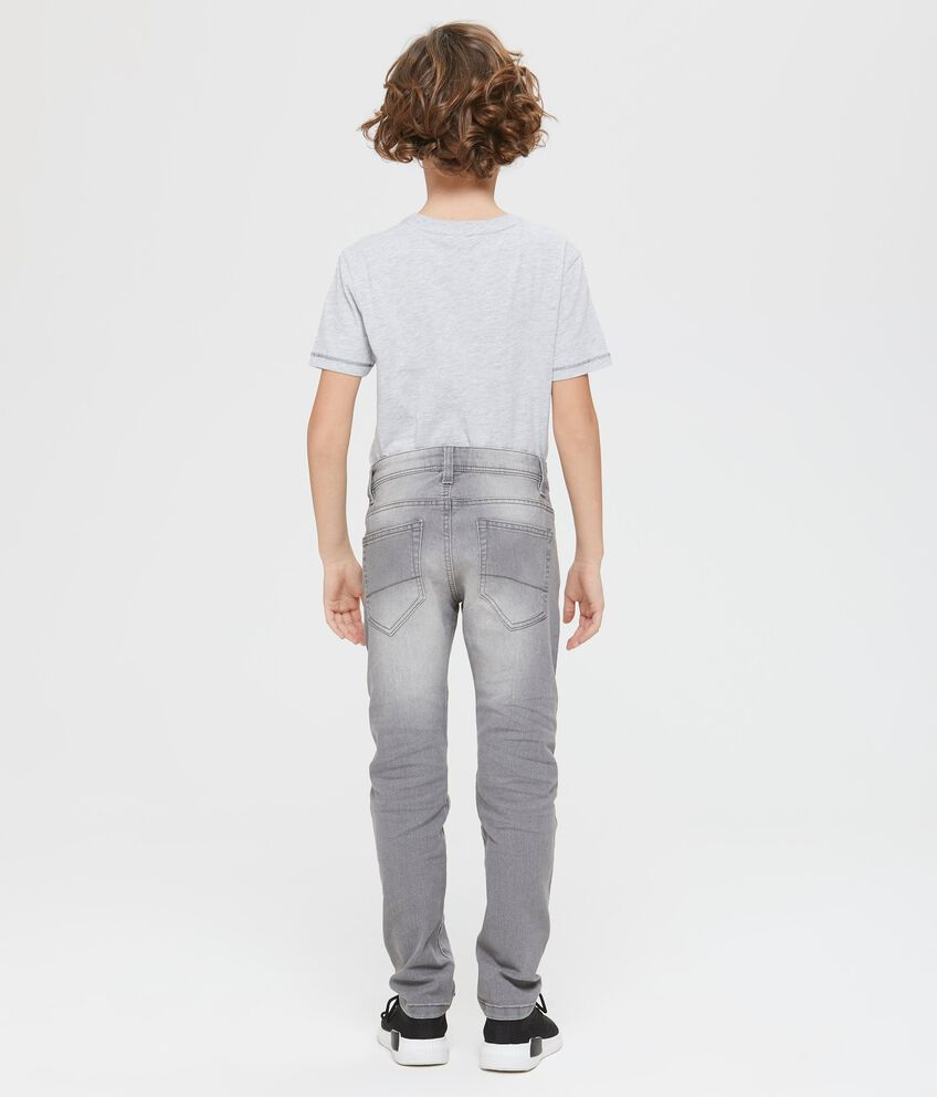 Denim skinny fit effetto used