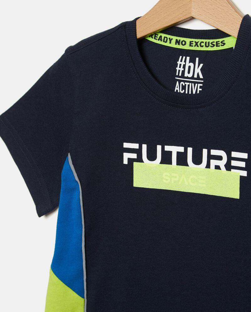 T-shirt in puro cotone stampata bambino single tile 1