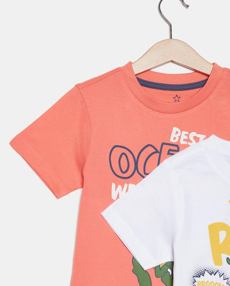 Bipack con 2 pigiami in cotone organico bambino