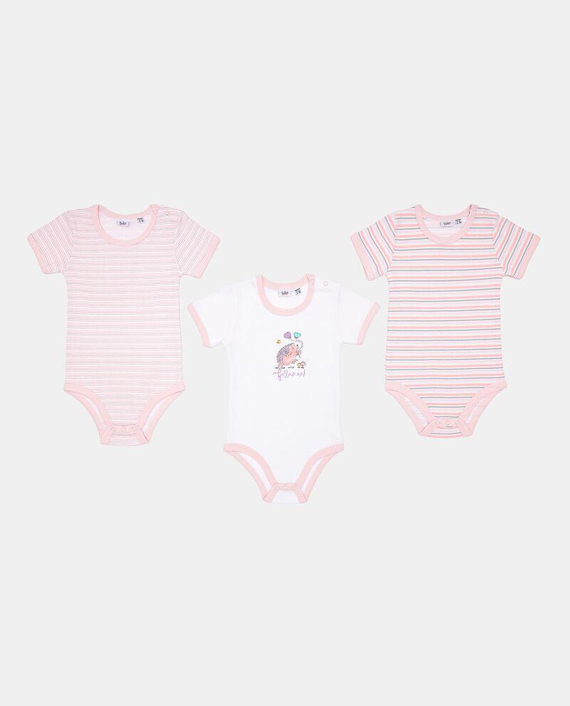Set body in puro cotone neonata
