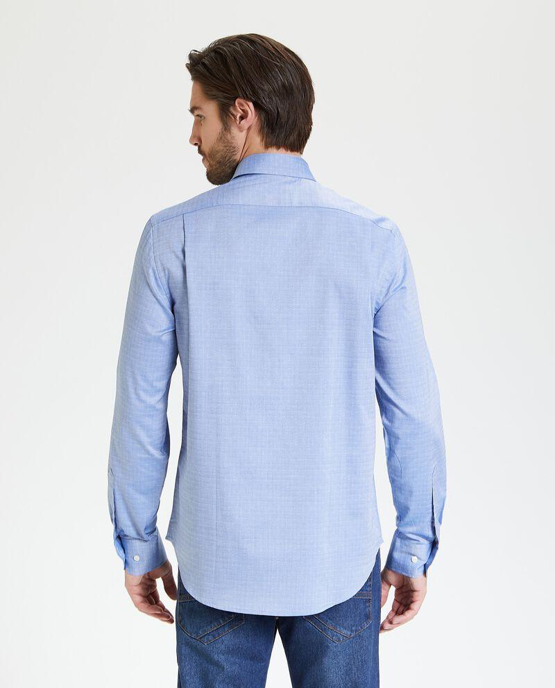 Camicia in puro cotone regular fit uomo single tile 2