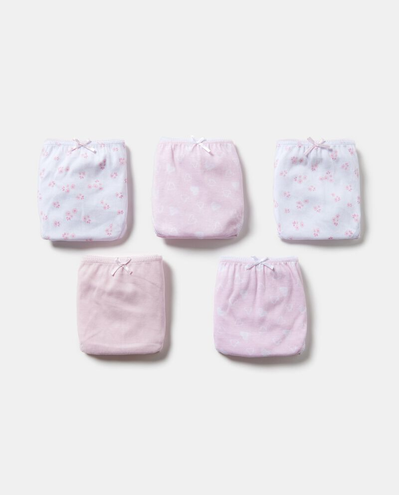 Set cinque slip puro cotone