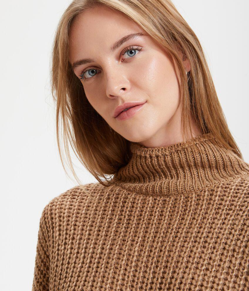 Maglione crochet donna