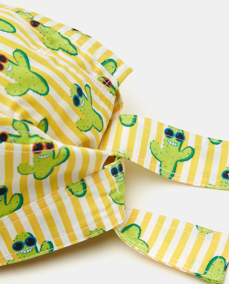 Bandana in popeline puro cotone stampata neonato single tile 1