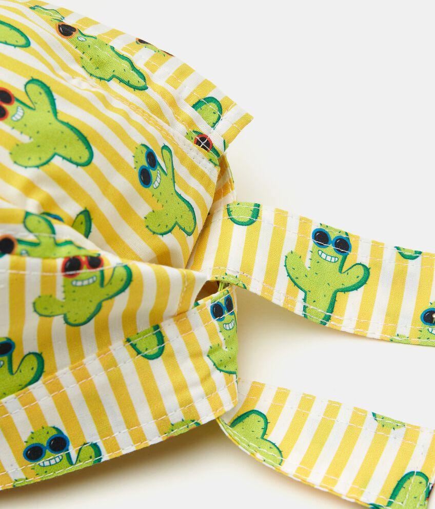 Bandana in popeline puro cotone stampata neonato double 2