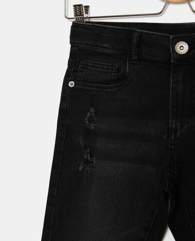 Jeans cinque tasche strappi ragazza