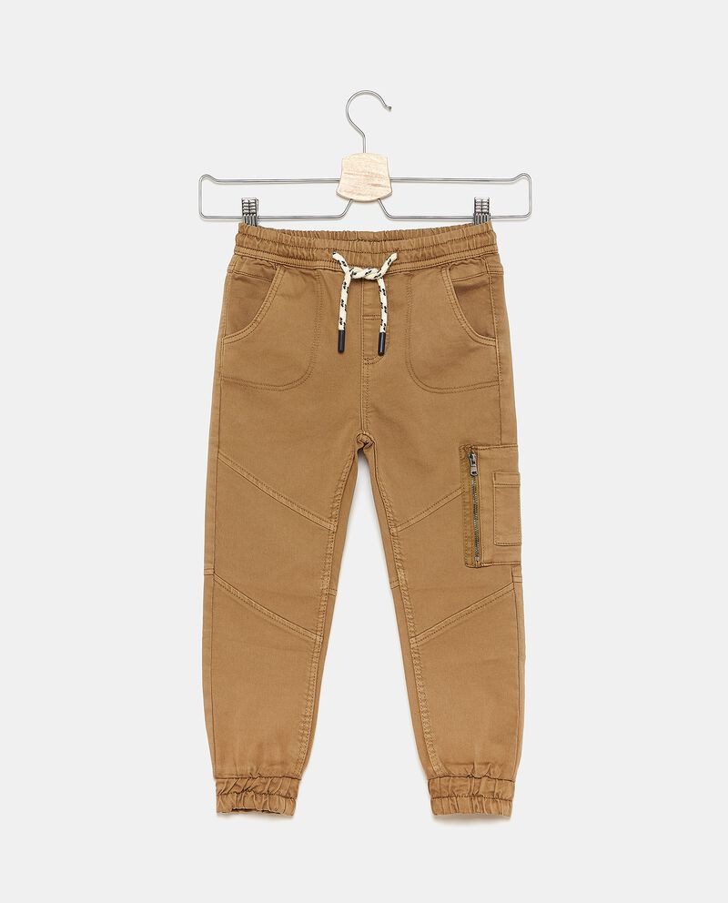 Pantaloni in tinta unita sportivi bambino