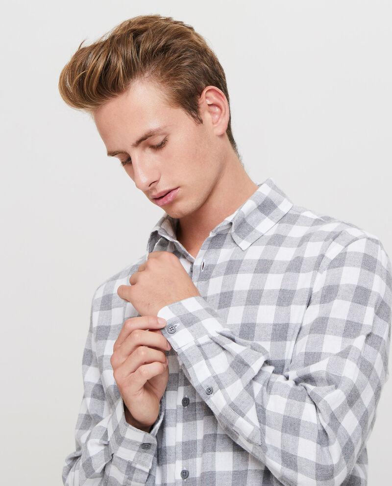 Camicia casual in puro cotone quadri