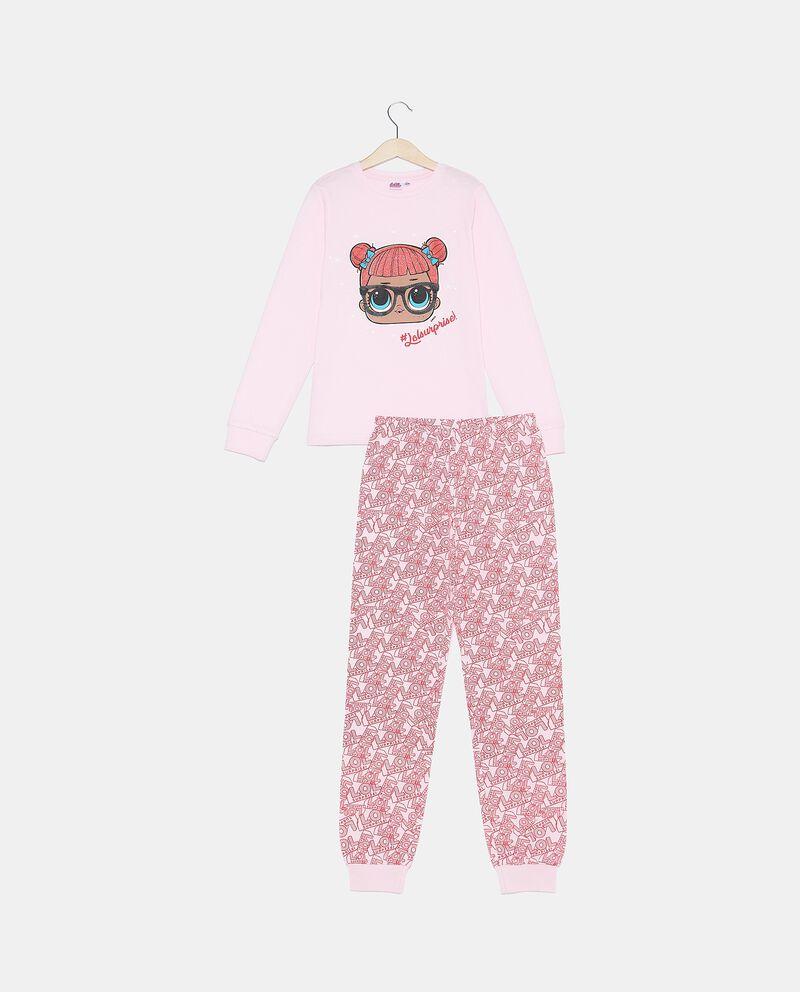 Set pigiama di puro cotone biologico maglia e pantaloni