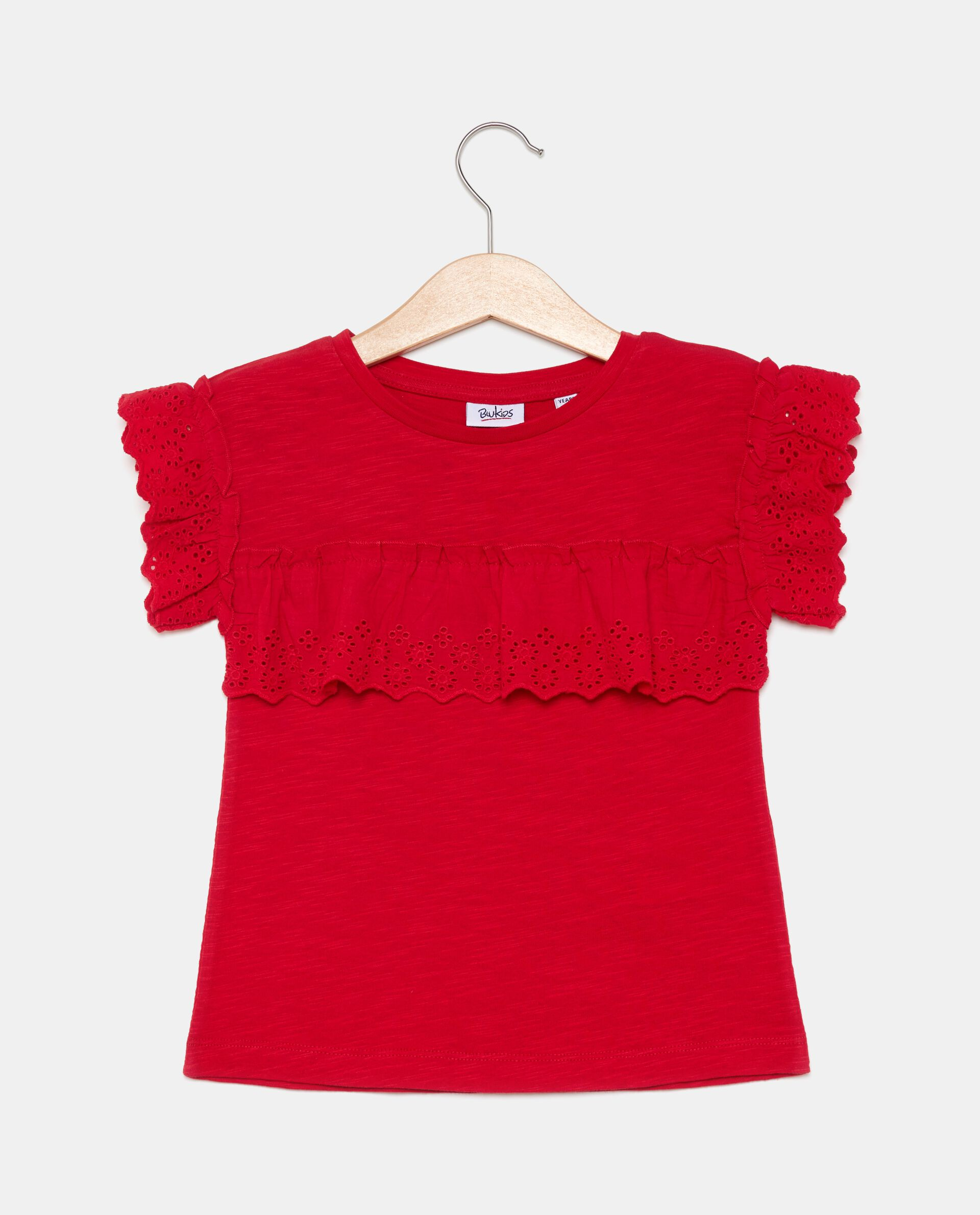 T-shirt in puro cotone bambina