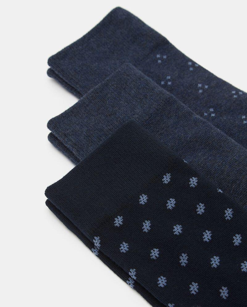 Set di calzini in cotone elasticizzato uomo single tile 1