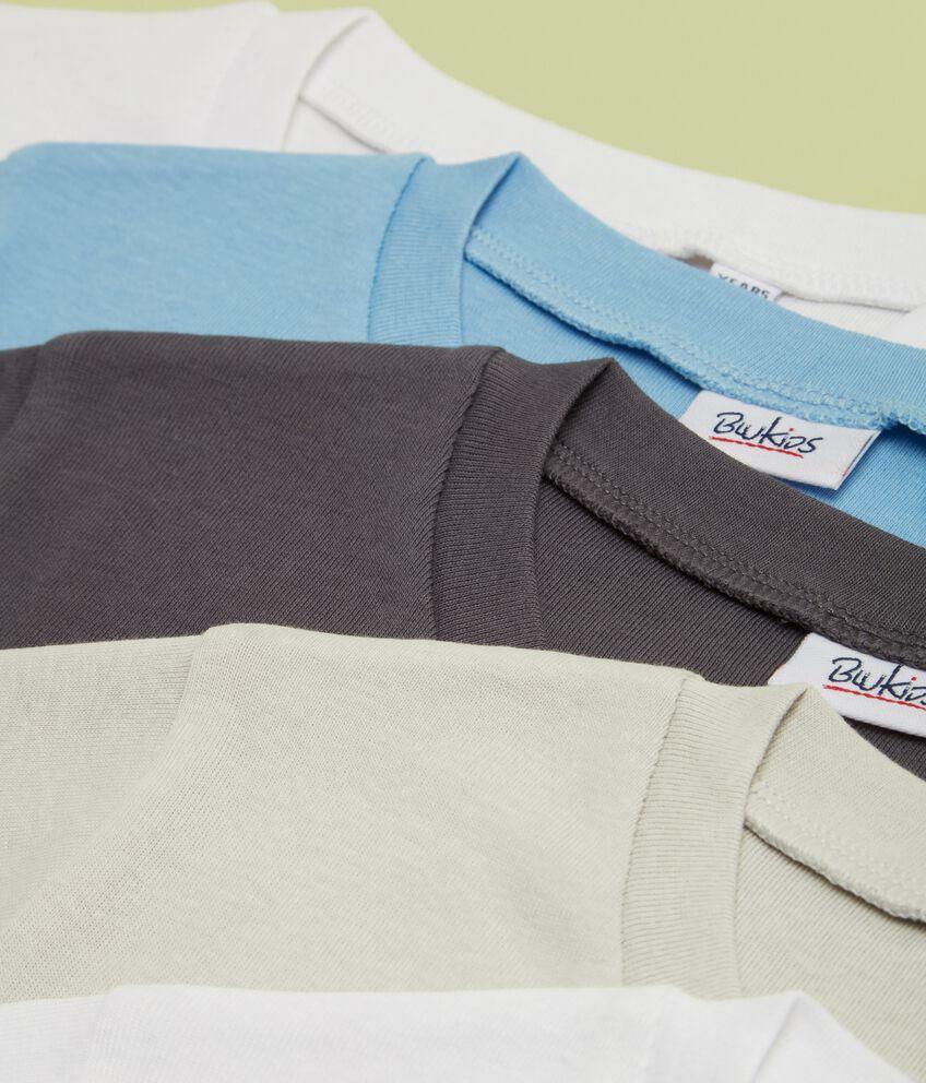 Five pack di magliette in puro cotone intime