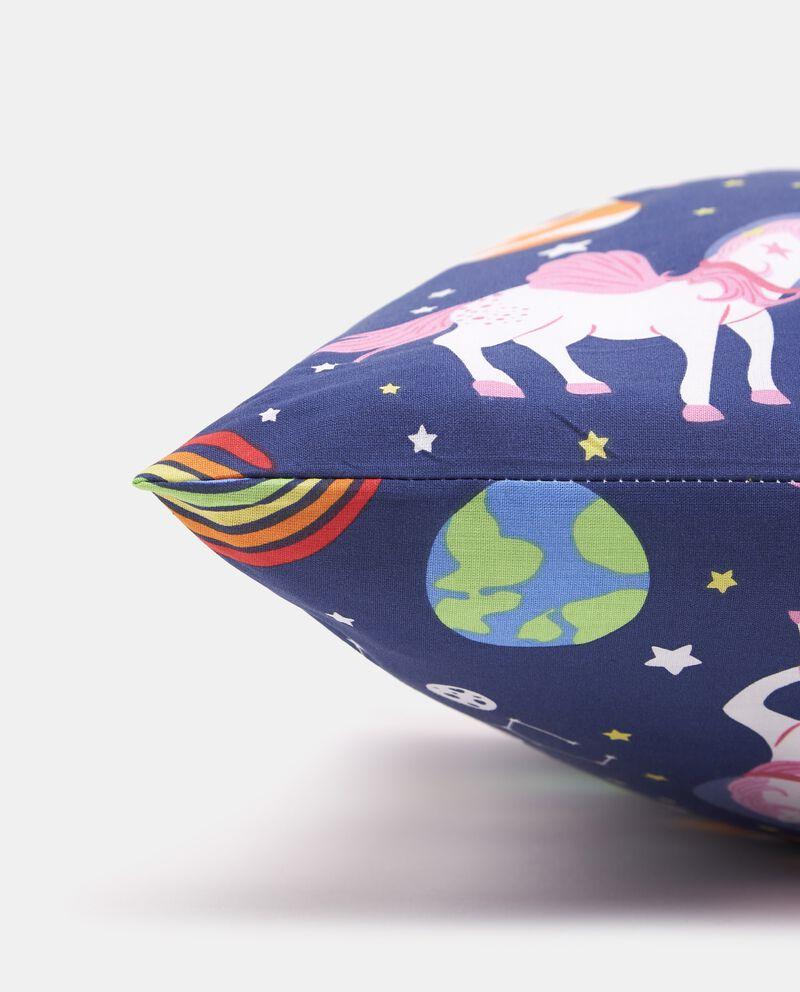 Federa puro cotone con fantasia unicorni single tile 1